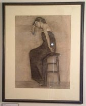 Image of 1979.26.5 - Drawing, Pencil