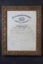 Image of 1988.1.1409 - Certificate