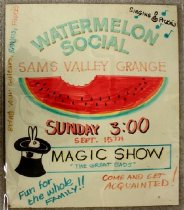 Image of Watermelon Poster 1992.87.56.1 (Photographed 5/7/2015)