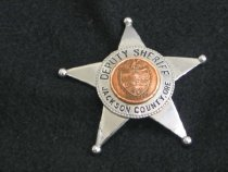 Image of 1998.17.6 - Badge, Police