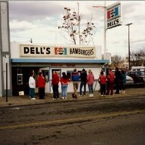Image of 2001.28.1 - Dell's Hamburger Stand