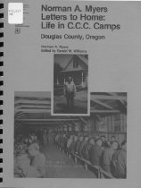 Image of Book - Letters to Home: Life in CCC Camps of Douglas County, Oregon, 1933-1934