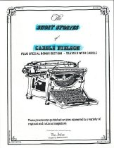Image of Book - The short stories of Carole Nielson  plus special bonus section - Travels with Carole