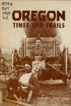 Image of Book - Oregon times and trails; an historical account for junior high schools