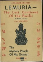 Image of Book - Lemuria - The lost continent of the Pacific   The mystery people of Mt. Shasta!
