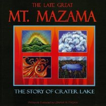 Image of Book - The Late Great Mt. Mazama