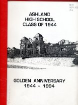 Image of Book - Ashland High School Class of 1944   Golden Anniversary 1944 - 1994
