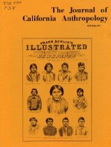 Image of Book - The Journal of California Anthropology   Winter 1977