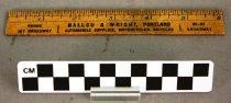 Image of 2000.46.8 - Ruler