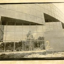 Image of Print, Photographic - 2 Manhattanville Road, home of International Paper Company, June 29, 1987