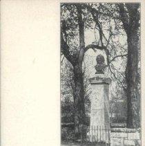 Image of Print, Photographic - Thomas Paine monument.