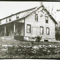 Image of Print, Photographic - Old Brett Tavern (Newman, Sarno house), 347 Bradhurst Avenue