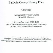 Image of Book/Evangelical Covenant Church - 30435000074767