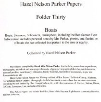 Image of Hazel Nelson Parker Papers_page_1