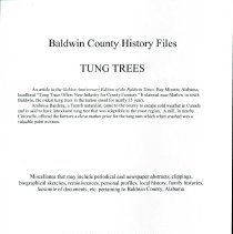 Image of Records/Tung Trees - 30435000849218