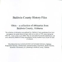 Image of Book/Obits - 30435000070351
