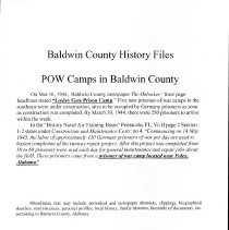Image of Bchf - Pow Camps