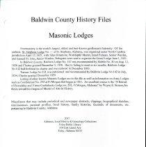 Image of Bchf - Masonic Lodges