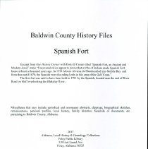 Image of Records/Spanish Fort - 30435000848319