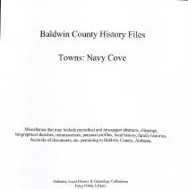 Image of Bchf - Towns Navy Cove
