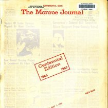 Image of Book/Supplemental Issue Monroe Journal - 30435001133281