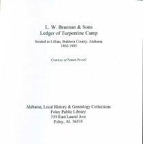Image of L W Brannan & Sons Ledger_1