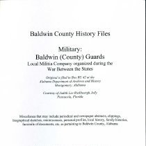 Image of Records/Military Southern Claims Comm - 30435001143421