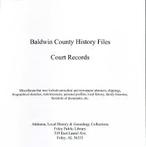 Image of Bchf - Court Records