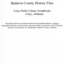 Image of Foley Library Scrapbooks - 30435001146432