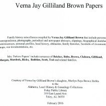 Image of Verna Jay Gilliland Brown
