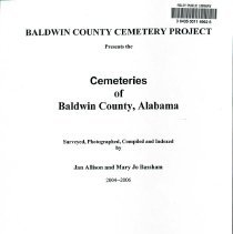 Image of Baldwin County Cemetery Project
