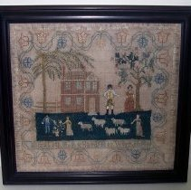 Image of 1897.010.001 - Sampler