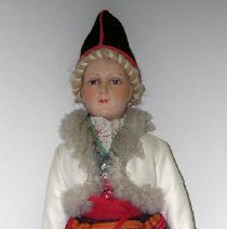 Image of 1937.010 a - Doll