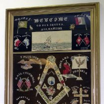 Image of 1999.010 - Picture, Needlework