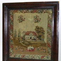 Image of 1954.002.001 - Picture, Needlework
