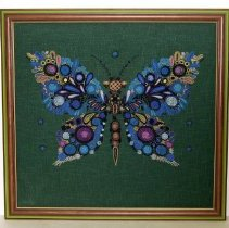 Image of 2004.006.005 - Needlework Picture