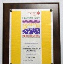 Image of 2001.082.003 - Award