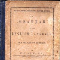 Image of Textbook:  A Grammar of the English Language