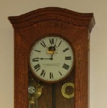 Image of 1999.12.36.8 - 7 Day Regulator & Bell System Clock