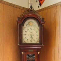 Image of 1999.12.39.8 - Clock:  Grandfathers Tall Case