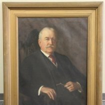 Image of 2000.01.94.7 - Portrait of Governor John D. Long, by , 1914