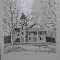 Image of 2003.03.07.7 - Print:  Hebron Community Baptist Church, 11/23 (2nd edition),