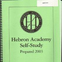 Image of Hebron Academy Self-Study,  prepared 2003