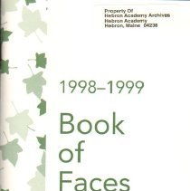 Image of Book:  Book of Faces, 1998-1999