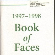 Image of Book:  Book of Faces, 1997-1998