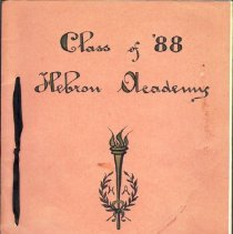 Image of Book:  Reunion Book,  Class of 1888