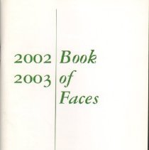 Image of Book of Faces,  2002 - 2003