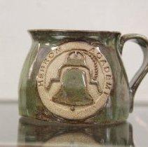 Image of 2015.01.03.8 - Pottery Mug, created by Jeanine Eschenbach, Fall, 2014.
