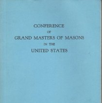 Image of Conference of Grand Masters - Freemasonry--Yearbooks