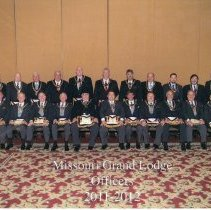 Image of Grand Lodge Officer 2011-2012